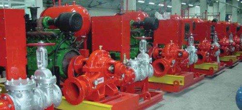 Hệ thống bơn phục vụ cho hệ thống PCCC
