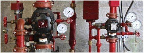 Hệ thống điều khiển có đồng hồ đo áp lực