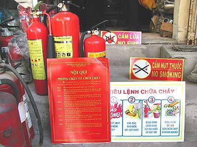 Bình chữa cháy & Bộ nội quy tiêu lệnh PCCC