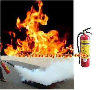 Thiết bị cứu hỏa sử dụng chữa cháy