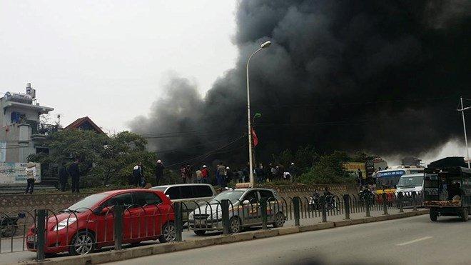 Tham gia cứu hoả tại đường Lạc Long Quân, Hà Nội post image