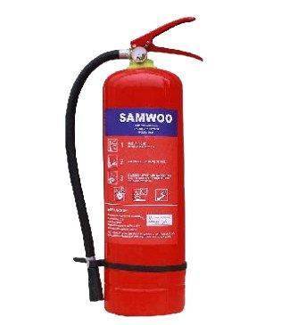 Bình chữa cháy bột BC 4kg Samwoo MFZ4