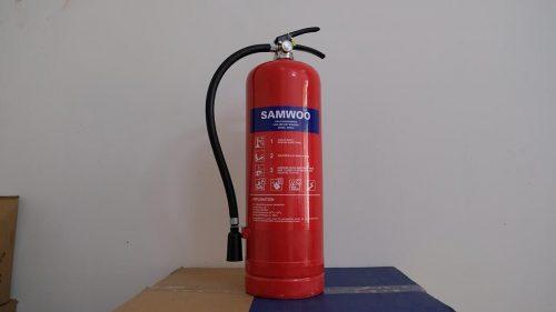 Bình chữa cháy xách tay bột Samwoo ABC MFZL8 8kg