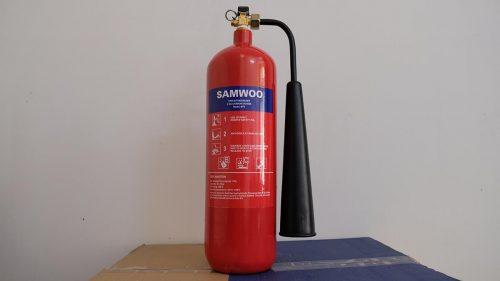 Bình chữa cháy Samwoo MT2 khí CO2 2kg