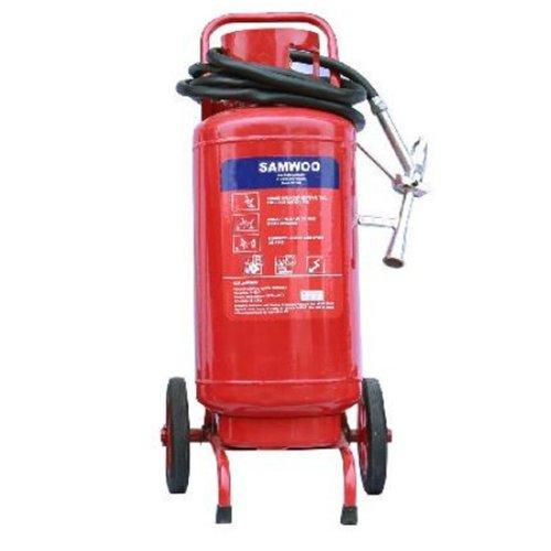 Bình chữa cháy xe đẩy bột ABC 35kg Samwoo MFTZL35