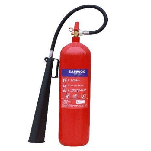 Bình chữa cháy xe đẩy khí CO2 24kg Samwoo MT24