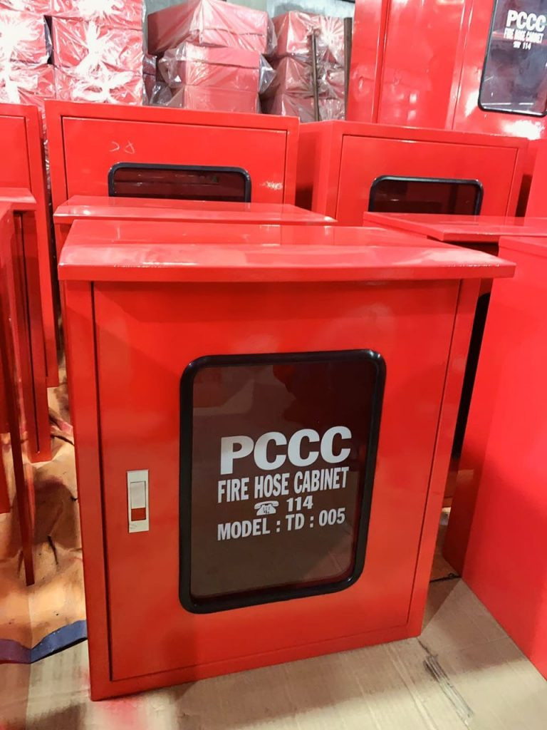 Tủ đựng bình chữa cháy TD : 005