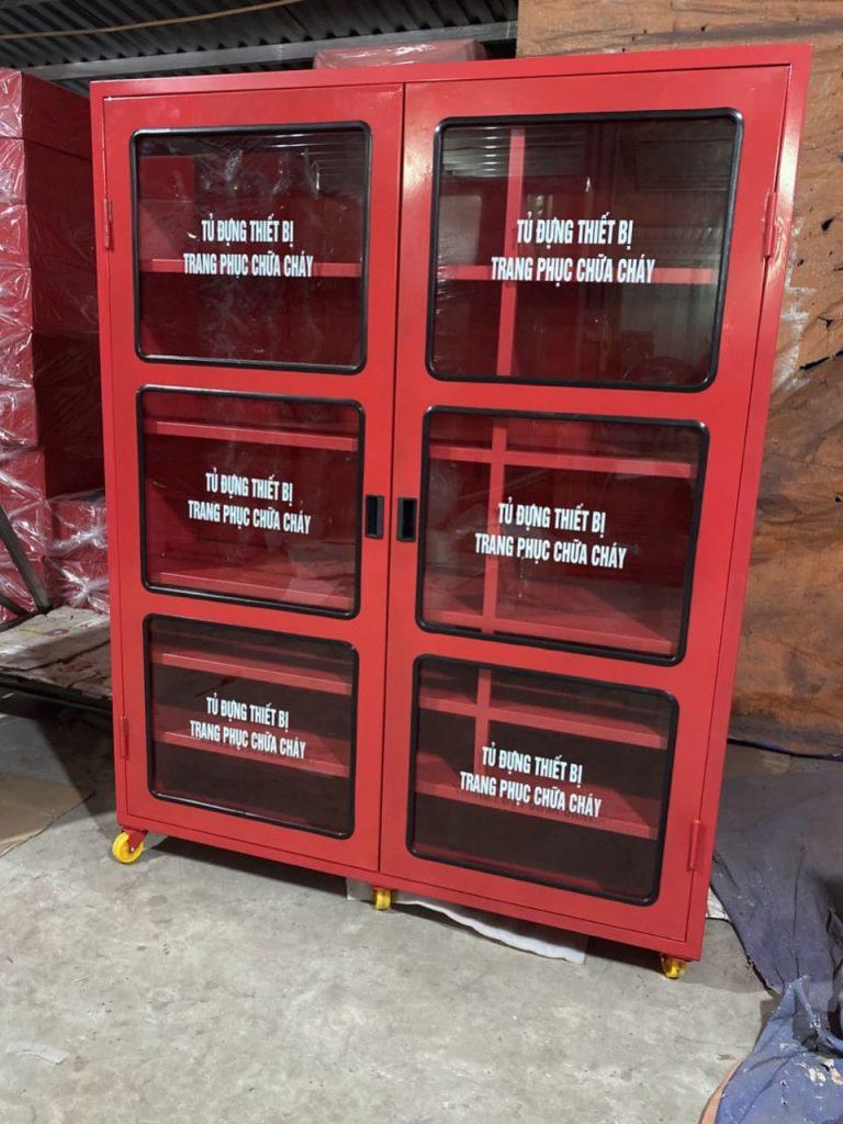 Tủ đựng thiết bị trang phục chữa cháy kích thước lớn