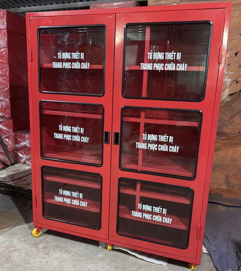 Tủ đựng thiết bị trang phục chữa cháy thumbnail