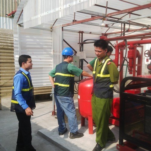 Lắp đặt hệ thống máy bơm chữa cháy theo tiêu chuẩn