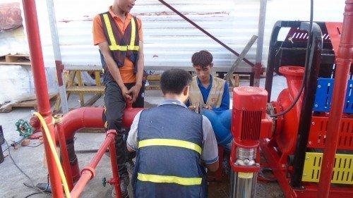 Lắp đặt hệ thống máy bơm chữa cháy theo tiêu chuẩn PCCC post image