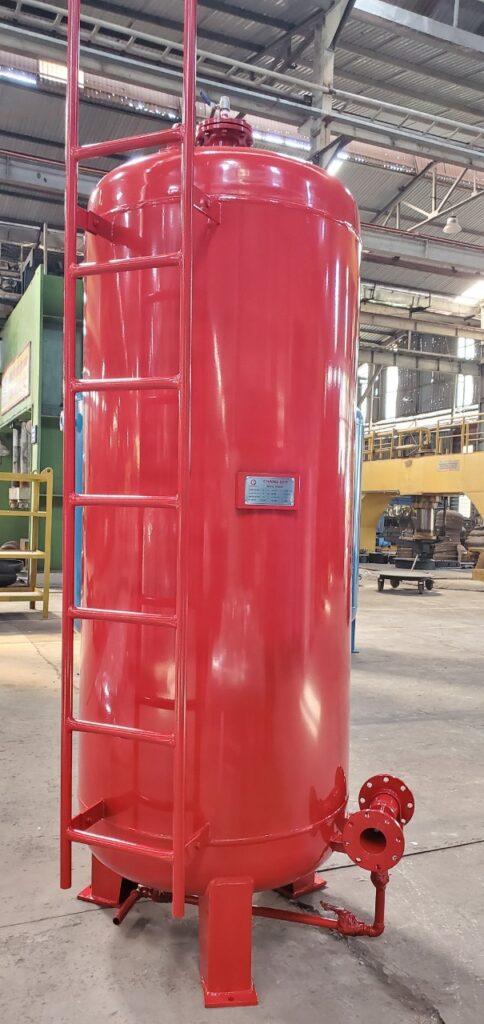 Xưởng sản xuất bồn chứa foam Chang Der tại KCN Đại Tự