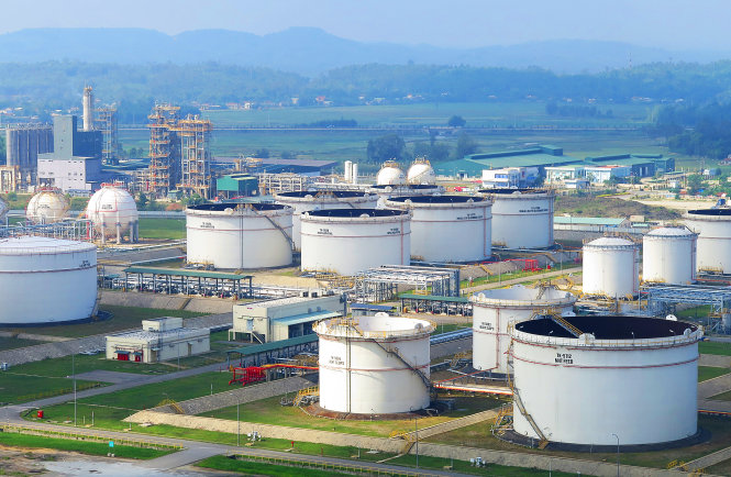 Bồn chứa Foam ứng dụng tại nhà máy lọc dầu