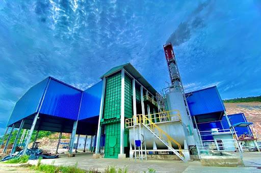 Bồn chứa foam ứng dụng nhà máy xử lý rác thải