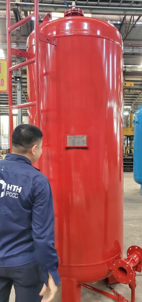 Sản xuất Bồn chang der chứa foam  Sản xuất địa chỉ KCN Đại Tự